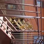 WC - railing trumpets