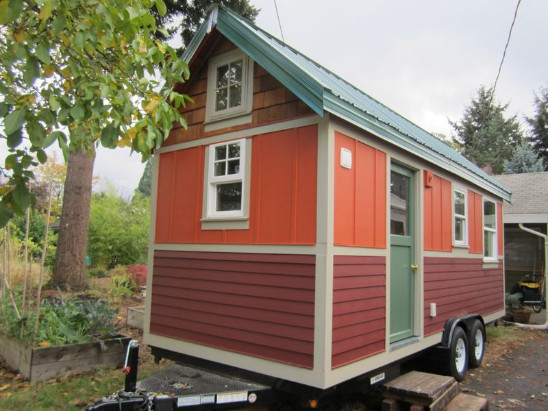 Outside the rules orange splot llc for Micro homes on wheels