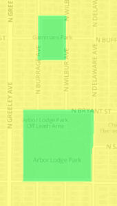 Arbor Lodge and Gammans Parks